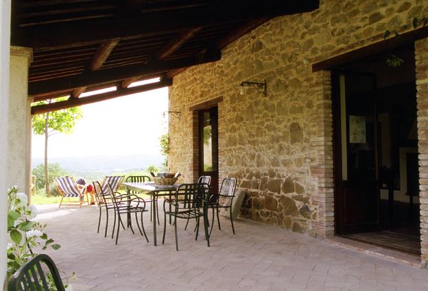 La casa di piandelbello for Casa ranch con veranda